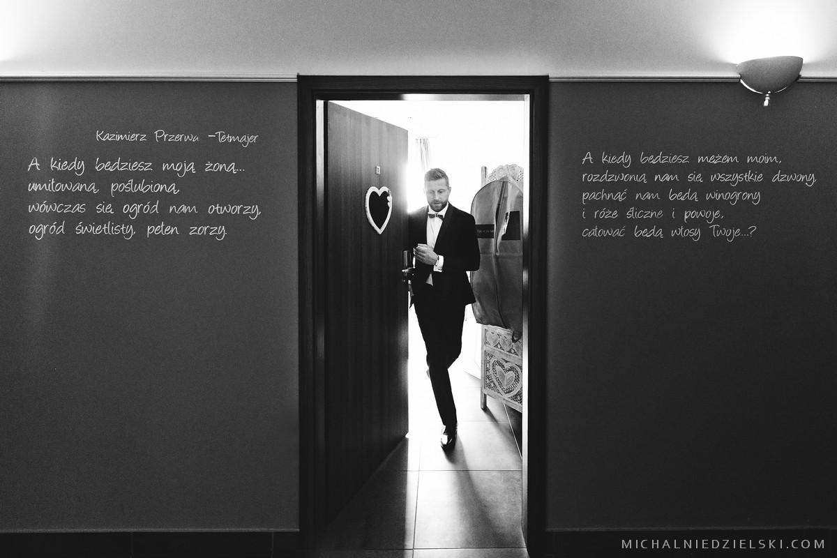 fotograf Szczecin zachodniopomorskie wykonal zdjecia slubne z przygotowan fotografia slubna Poznan wielkopolska