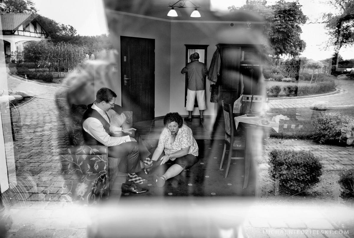 fotograf ze Szczecina zachodniomoporskie autorem zdjec na polsko zydowski slub Marty i Daniela w Dworek nad Rega