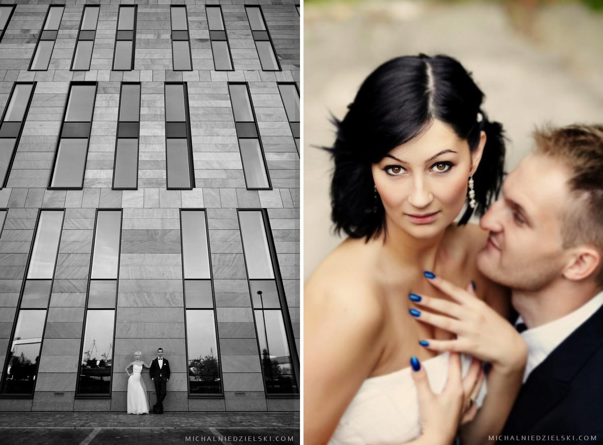 fotograf ze Szczecina wykonal zdjecie slubne z sesji w plenerze
